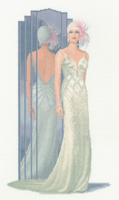 click here to view larger image of Lilly - Elegance (27ct) (counted cross stitch kit)