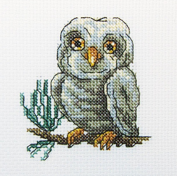 click here to view larger image of Owlet (counted cross stitch kit)