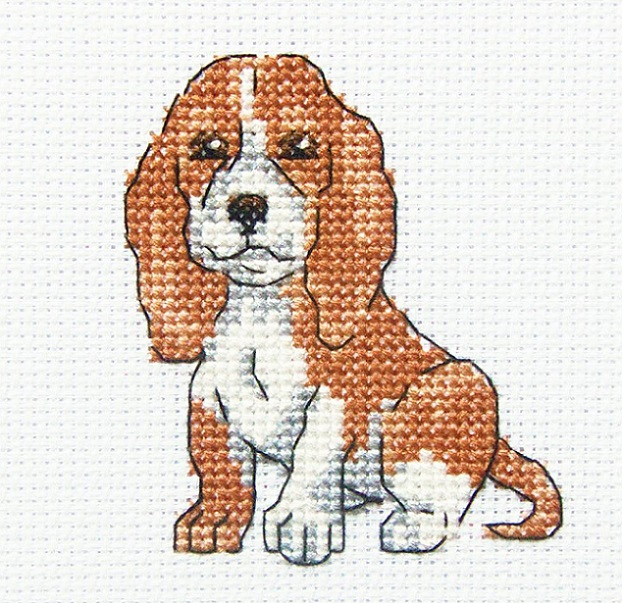 click here to view larger image of Long Eared Buddy (counted cross stitch kit)