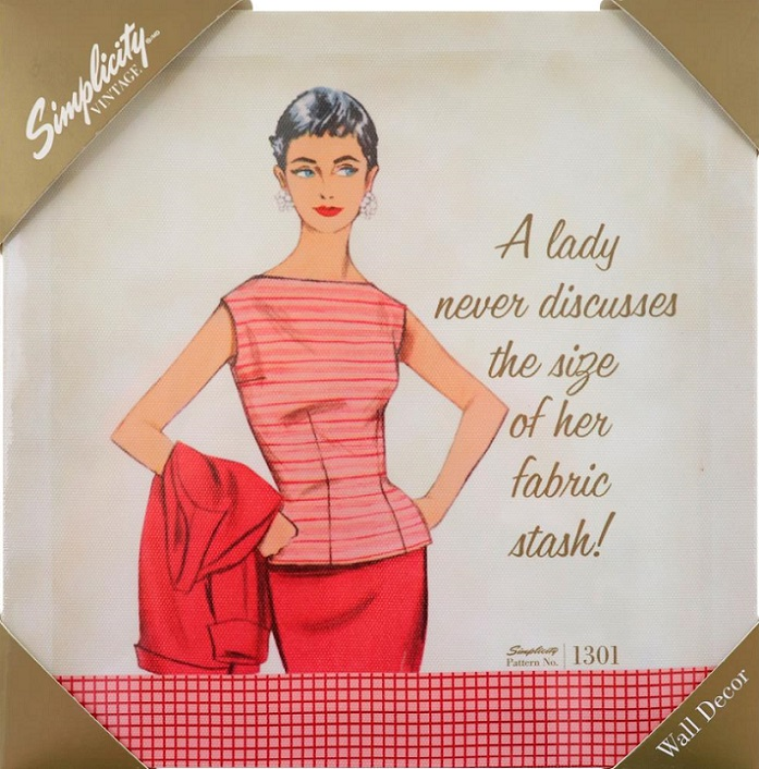 click here to view larger image of Simplicity Vintage Wall Decor  (accessory)