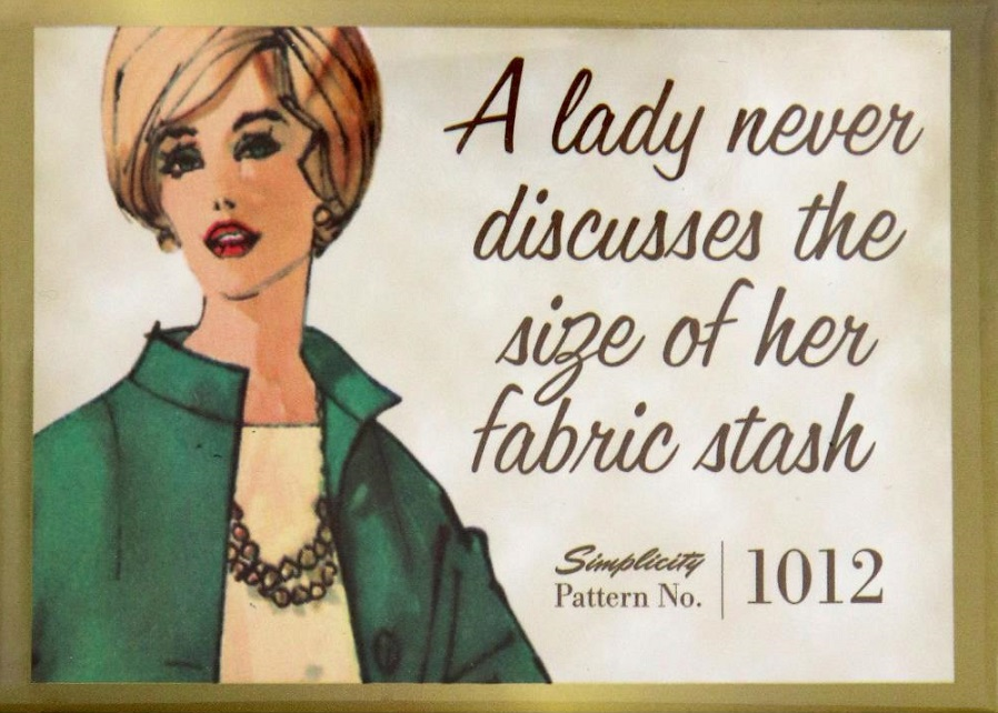 click here to view larger image of Simplicity Vintage Magnet (accessory)