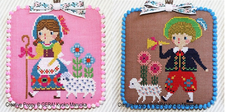 click here to view larger image of Little Bo Peep & Little Boy Blue (chart)