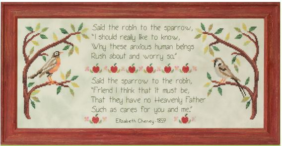 click here to view larger image of Overheard In An Orchard (chart)