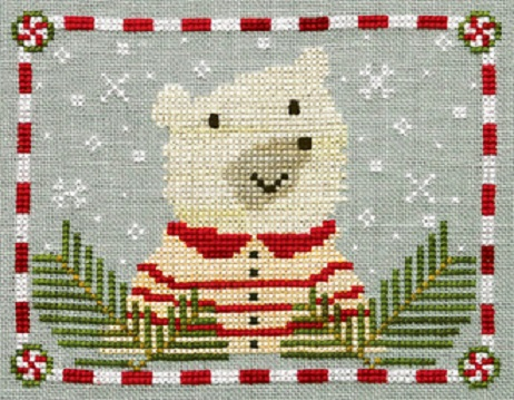 click here to view larger image of Peppermint Polar Bear (chart)