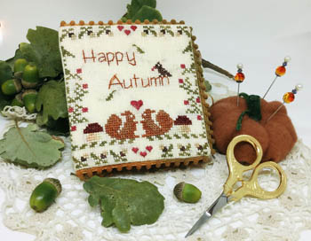 click here to view larger image of Happy Autumn Sewing Book (chart)