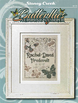 click here to view larger image of Butterflies Wedding Sampler (chart)