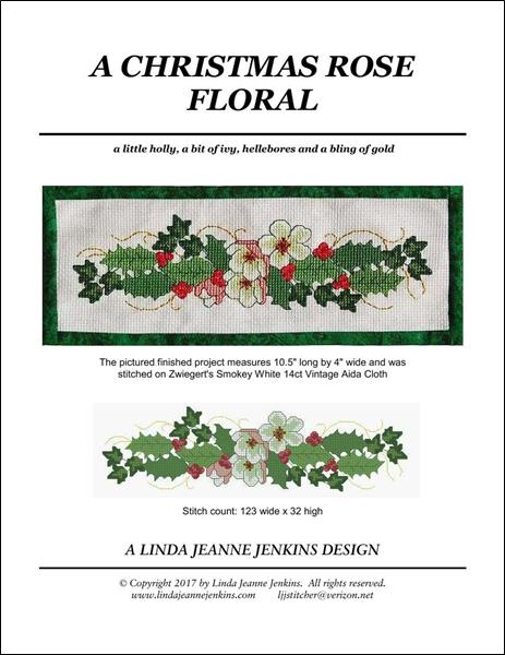click here to view larger image of Christmas Rose Floral, A (chart)