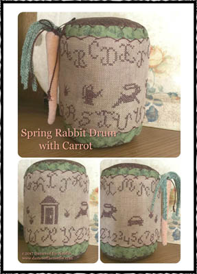 click here to view larger image of Spring Rabbit Drum (chart)