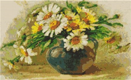 click here to view larger image of Daisies, by Catherine Klein (chart)