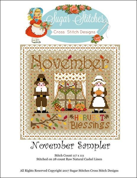 click here to view larger image of November Monthly Sampler (chart)