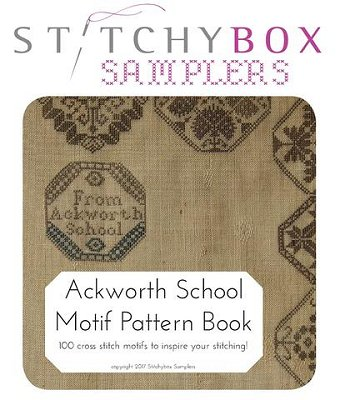 click here to view larger image of Ackworth School Motif Pattern Book (book)