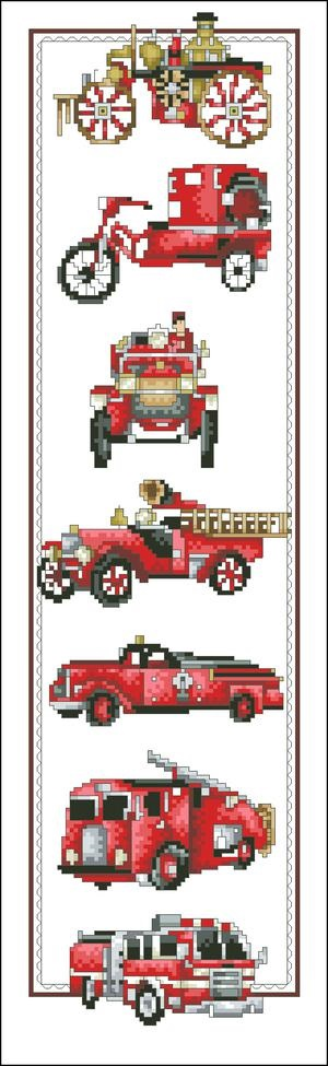 click here to view larger image of History of Fire Engines (chart)