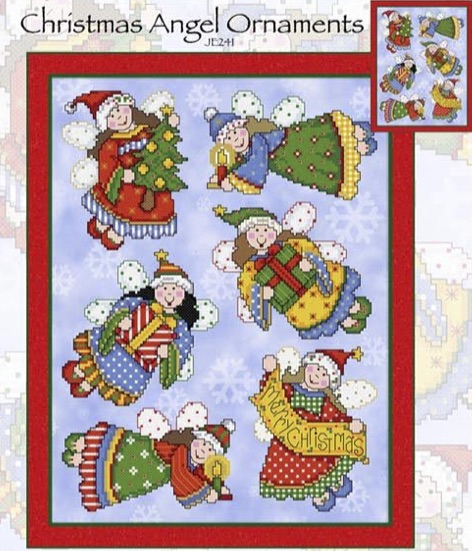 click here to view larger image of Christmas Ornament Angels (chart)