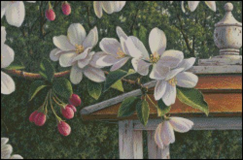 click here to view larger image of Crabapple Flowers (chart)