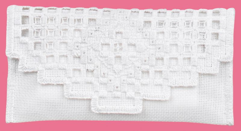 click here to view larger image of Minivaska (Clutch/Purse) (Hardanger and Cut Work)