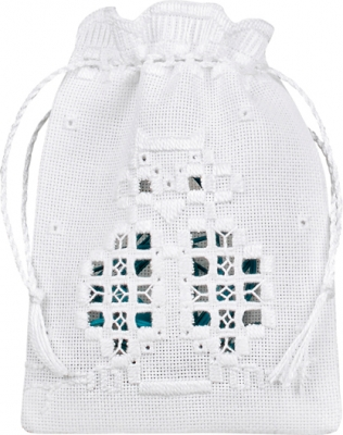 click here to view larger image of Owl Bag (Hardanger and Cut Work)
