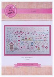 click here to view larger image of Love (counted cross stitch kit)