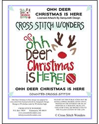 click here to view larger image of Ohh Deer Christmas is Here (chart)
