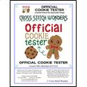 click here to view larger image of Official Cookie Tester (chart)