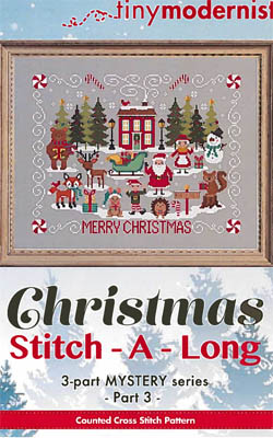 click here to view larger image of Christmas Stitch-A-Long - Part 3 (chart)