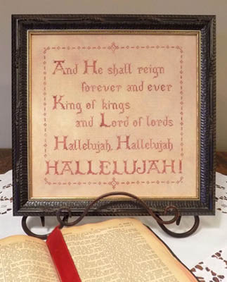 click here to view larger image of Hallelujah (chart)