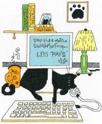 click here to view larger image of Computer Cat (chart)