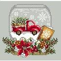 Truck Snow Globe - click here for more details about chart