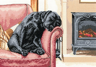 click here to view larger image of After the Walk (27ct) (counted cross stitch kit)
