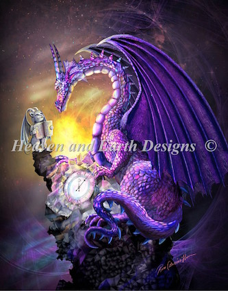 click here to view larger image of Amethyst Dragon (chart)