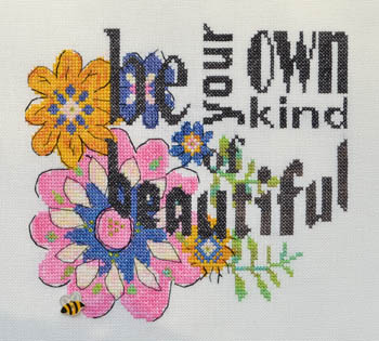 click here to view larger image of Be Your Own Kind of Beautiful (chart)