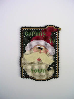 click here to view larger image of Coming to Town (Kit) (counted cross stitch kit)