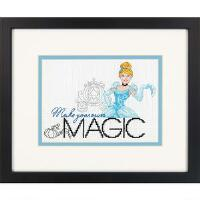 click here to view larger image of Make Your Own Magic - Cinderella (counted cross stitch kit)