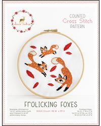 click here to view larger image of Frolicking Foxes (chart)