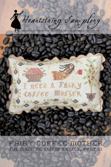 click here to view larger image of Fairy Coffee Mother (chart)