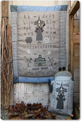 click here to view larger image of Mrs Witch Sampler (chart)