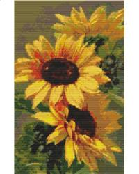 click here to view larger image of Sunflowers (chart)