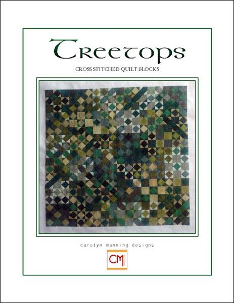 click here to view larger image of Treetops - Broken Star Collection (chart)
