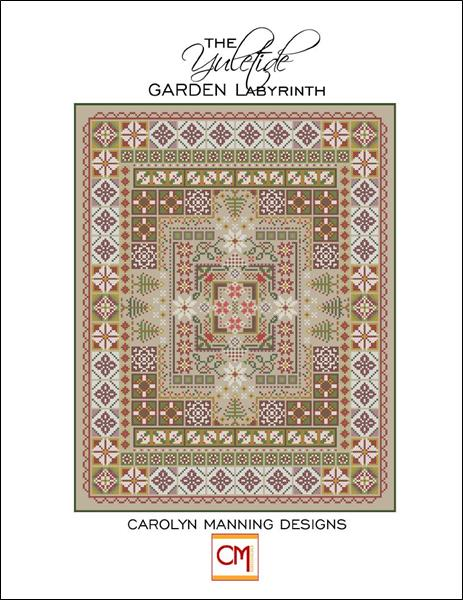 click here to view larger image of Yuletide Garden Labyrinth, The (chart)