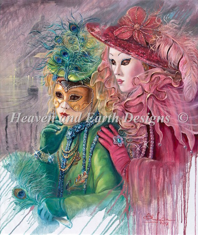 click here to view larger image of Venetian Fairies Max Color (chart)