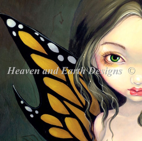 click here to view larger image of Fairy with Dried Flowers No Background (chart)