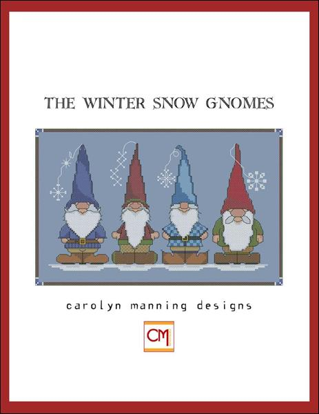 click here to view larger image of Winter Snow Gnomes, The (chart)