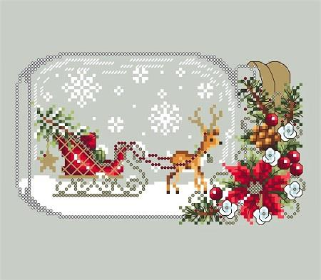 click here to view larger image of Sleigh Snow Globes (chart)