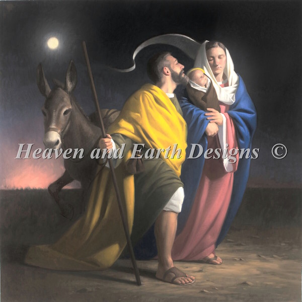 click here to view larger image of Flight Into Egypt (chart)