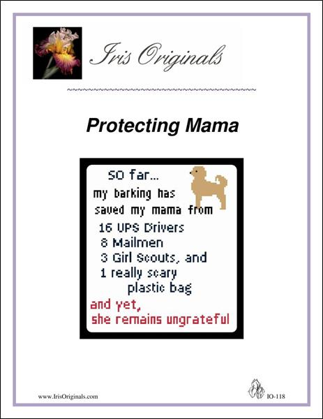 click here to view larger image of Protecting Mama (chart)
