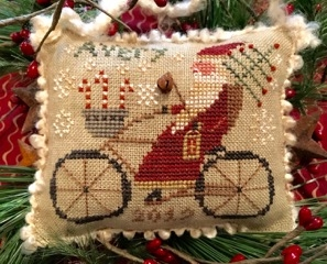 click here to view larger image of Averys Cycling Santa - Merry Noel Collection (chart)
