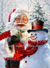click here to view larger image of Santa and Frosty (chart)