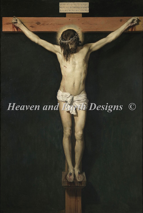 click here to view larger image of Christ Crucified (chart)