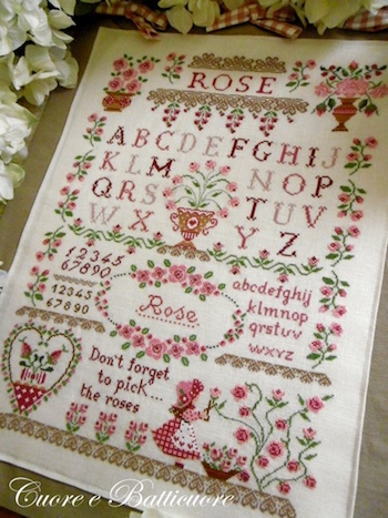 click here to view larger image of Rose Sampler (chart)