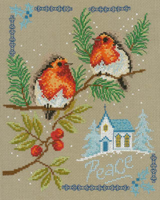 click here to view larger image of Peaceful Birds (chart)