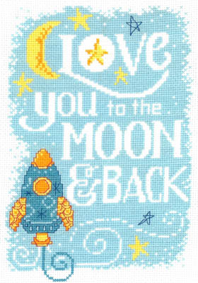 click here to view larger image of Love You To the Moon (chart)
